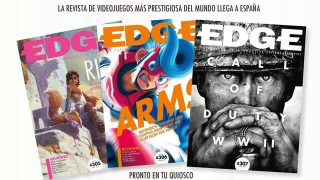 La revista EDGE se volverá a publicar en España