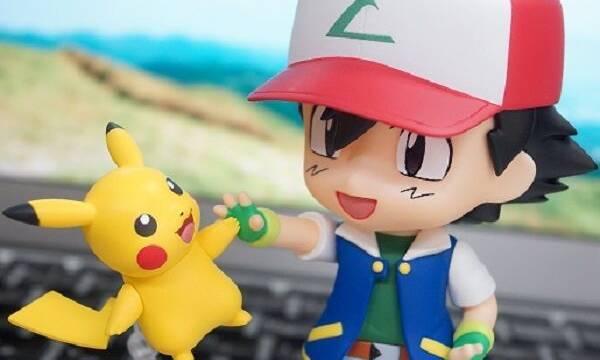 Llegan las primeras imágenes de las figuras Nendoroid de Ash y Pikachu