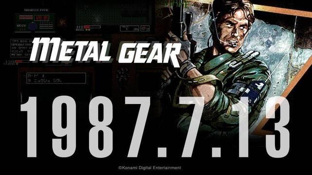 La saga Metal Gear cumple 30 años