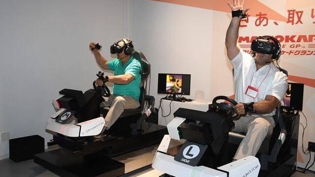 Llegan nuevas imágenes de Mario Kart VR, disponible en el VR Zone de Shinjuku