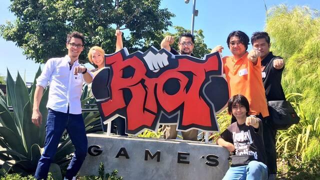 Arc System Works visita las instalaciones de Riot Games