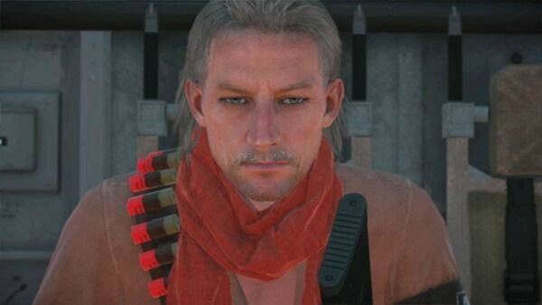 Ocelot será jugable en las misiones FOB de MGS V: The Phantom Pain