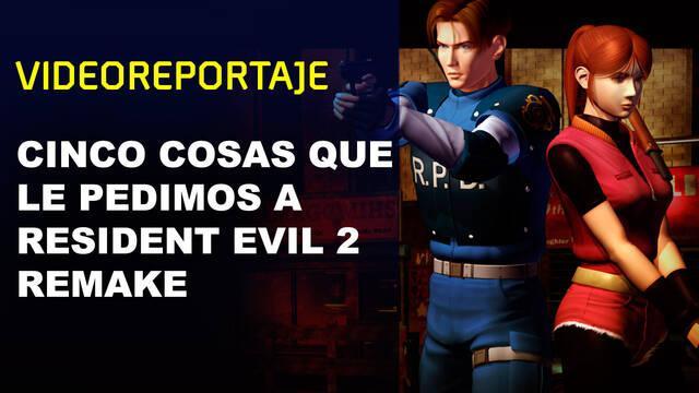 Cinco cosas que le pedimos a Resident Evil 2: Remake