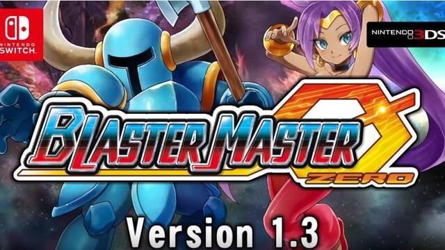 Shovel Knight y Shantae engrosan las filas de Blaster Master Zero