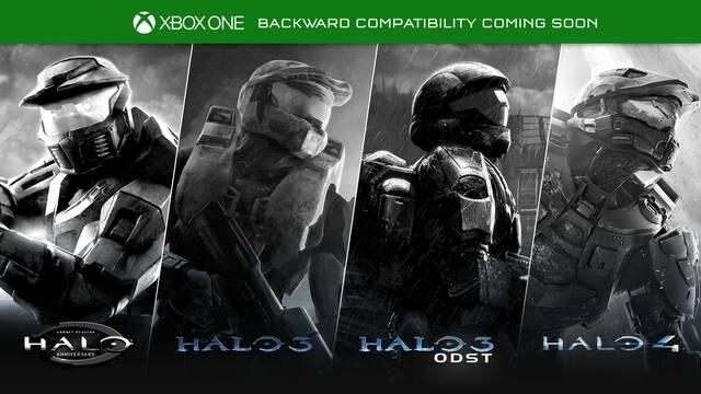 Los Halo de Xbox 360 llegarán a la retrocompatibilidad de One este año