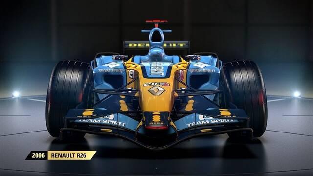El Renault R26 de 2006 estará disponible en F1 2017