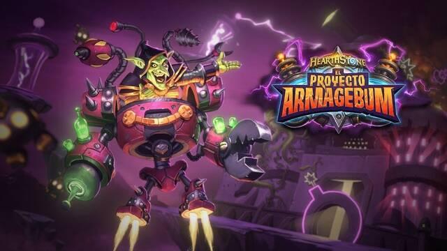 Anunciada la nueva expansión de Hearthstone, Proyecto Armagebum
