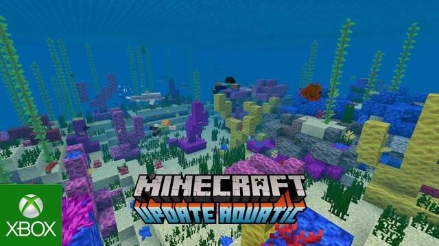 Minecraft recibe la segunda fase de la Actualización Acuática