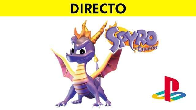 Jugamos en directo a Spyro the Dragon de PSX a partir de las 19:00