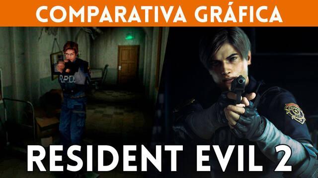 Comparamos los gráficos de Resident Evil 2 Remake con el original de PS One