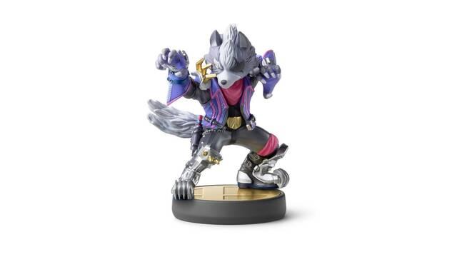 Así es el amiibo de Wolf de Super Smash Bros. Ultimate