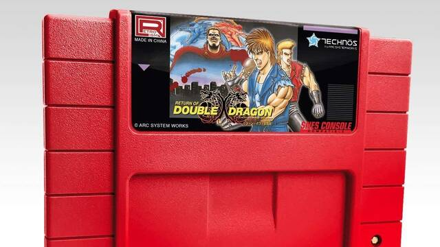 Return of Double Dragon llegará con una versión inédita en cartucho a SNES