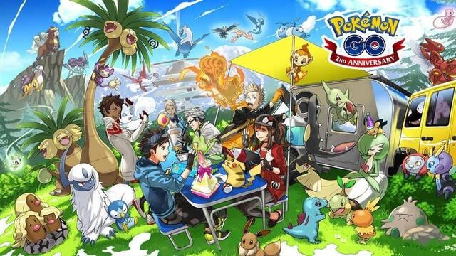 Pokémon GO presenta la Generación 4 con un arte promocional