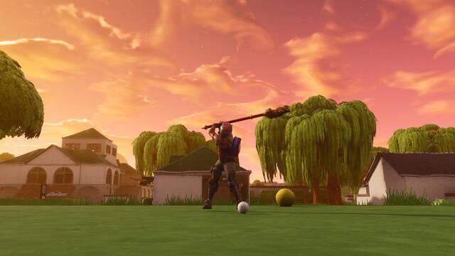 La Temporada 5 de Fortnite agrega un simulador de golf