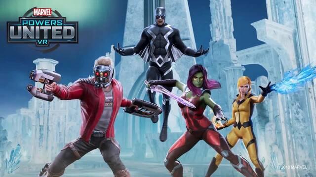 Marvel Powers United VR contará con Gamora y Star-Lord