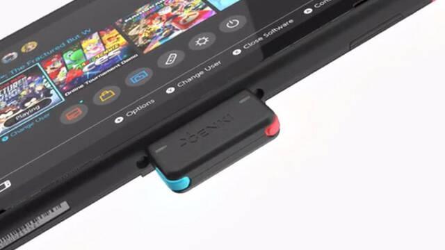 Anunciado un adaptador para auriculares Bluetooth en Nintendo Switch