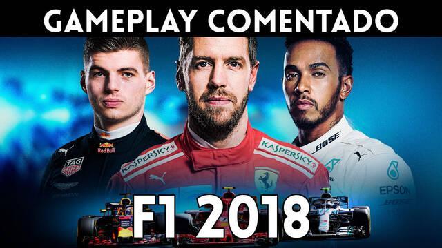 Gameplay comentado de F1 2018