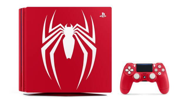 Anunciadas ediciones especiales de PS4 Pro y PS4 con Spider-Man
