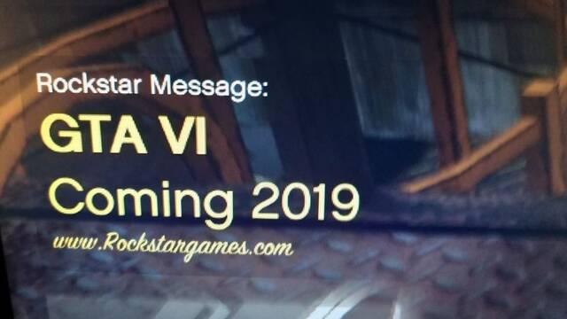 Rockstar confirma que el mensaje en GTA Online de GTA VI en 2019 es falso