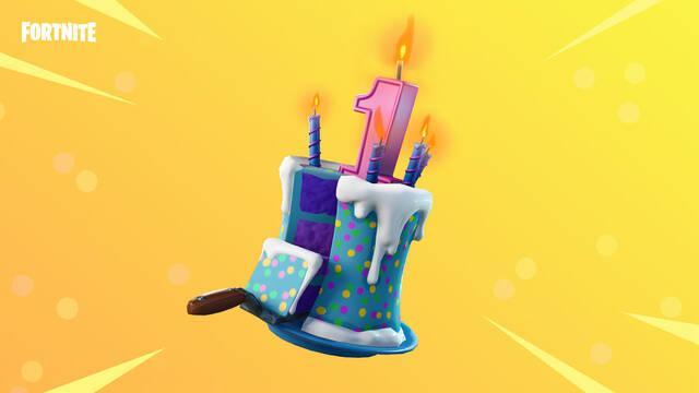 Como superar Baila delante de pasteles de cumpleaños distintos en Fortnite