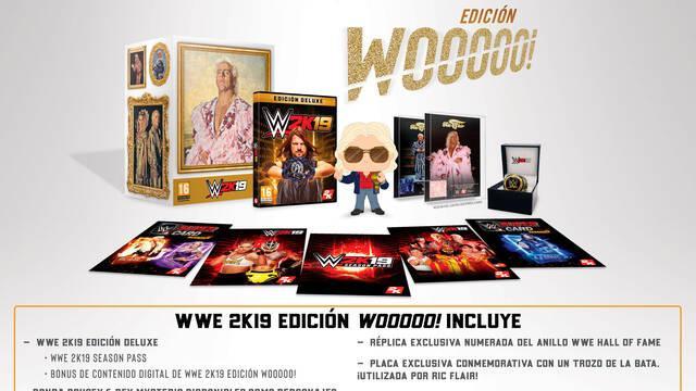 2K anuncia WWE 2K19 Edición Wooooo!, dedicada a Ric Flair