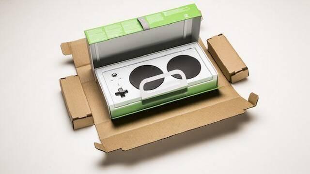 El embalaje del Xbox One Adaptive Control es una muestra de accesibilidad