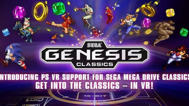 SEGA Mega Drive Classics se actualiza gratis y se hace compatible con PS VR