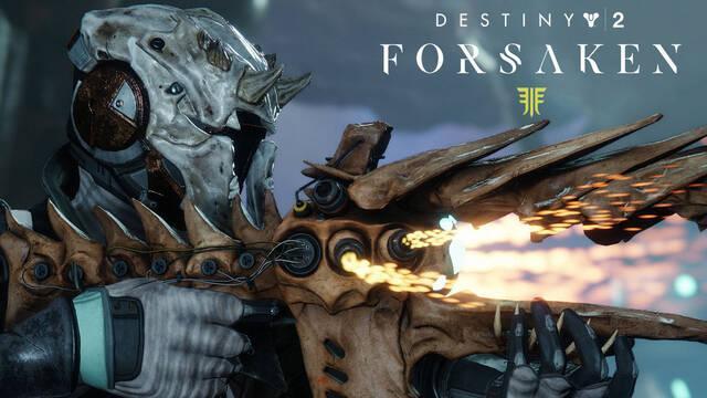 Destiny 2: Los Renegados muestra nuevas armas y equipamiento
