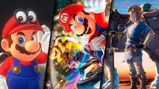Estos son los juegos más vendidos de Nintendo en sus últimas consolas