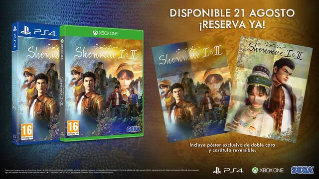 Oficial: Shenmue I & II llegará el 21 de agosto a Xbox One, PS4 y PC