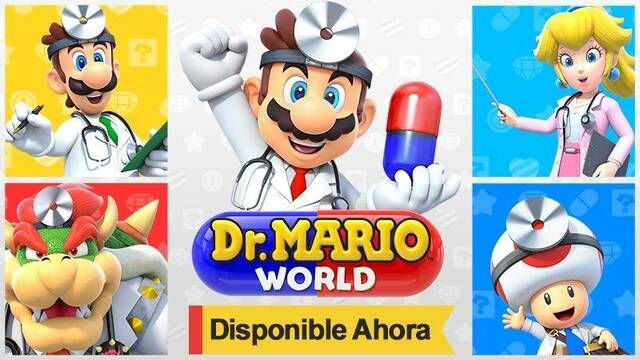 Dr. Mario World ya disponible para descargar gratis en móviles iOS y Android