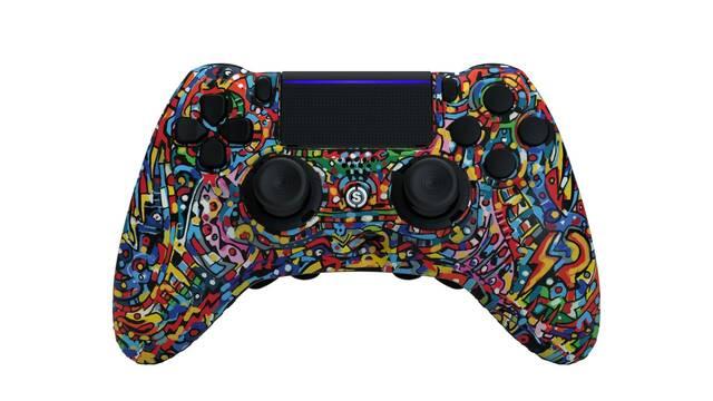 SCUF Impact Pow3r Edition, el mando más artístico para PS4, PC y móvil