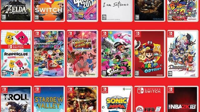 Switch cuenta con 2480 juegos 'para todos', y los muestra en un tráiler