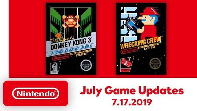 Los juegos de NES para Switch tendrán una nueva opción de rebobinado