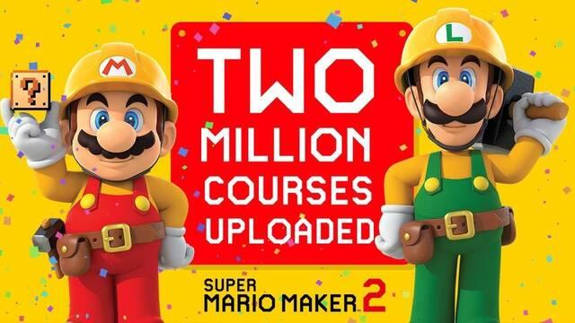 Super Mario Maker 2 ya tiene más de 2 millones de niveles de usuarios