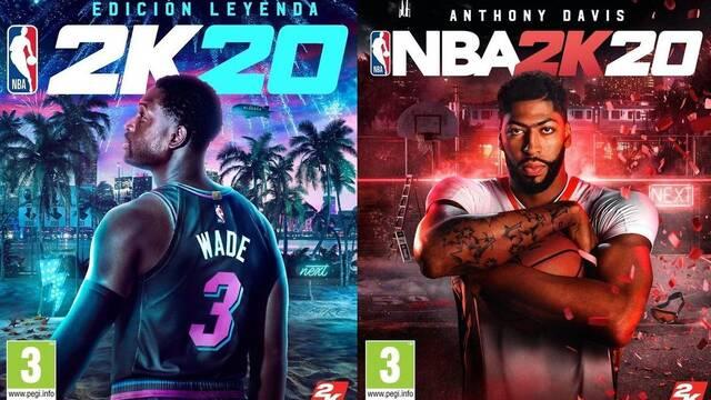 NBA 2K20: Anthony Davis y Dwayne Wade son los rostros de la portada
