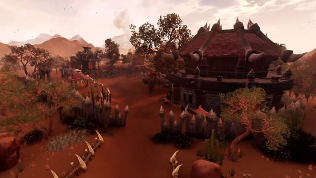 Imaginan World of Warcraft con gráficos actuales en Unreal Engine 4