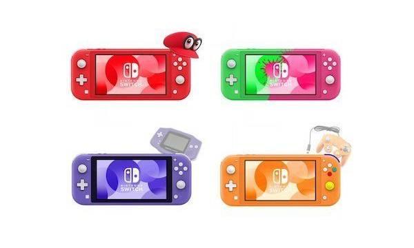 Nintendo Switch Lite: Imaginan varias versiones retro y de diferentes colores