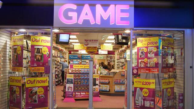 Sports Direct, una cadena de artículos de deporte, posee el 84% de GAME en Reino Unido