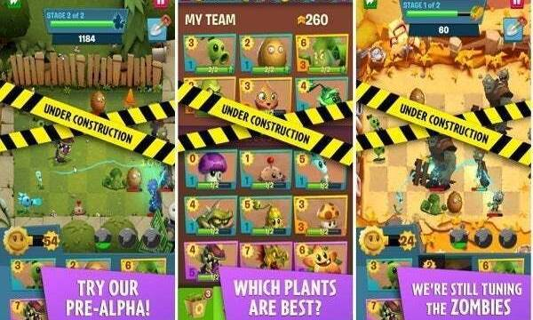 Plants vs. Zombies 3 aparece en la Google Play Store por sorpresa