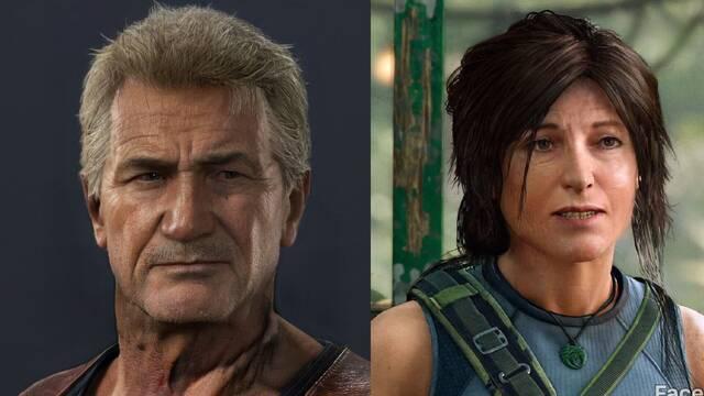 Así envejecen los personajes de videojuegos con FaceApp