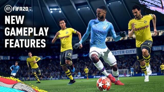 FIFA 20 estrena nuevo tráiler con imágenes del juego y detallando sus mecánicas