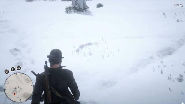 Red Dead Online sobrenatural: Descubren a un fantasma caminando por la nieve