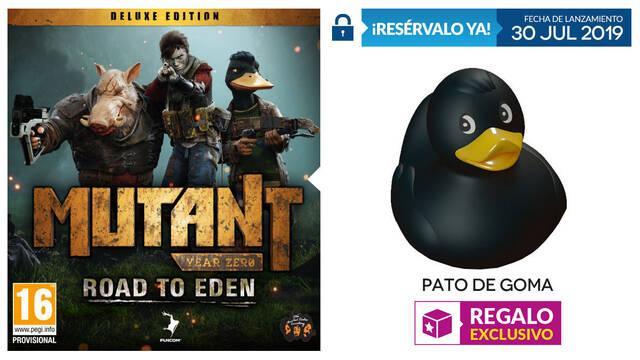 GAME detalla su incentivo de reserva exclusivo para Mutant Year Zero en Switch