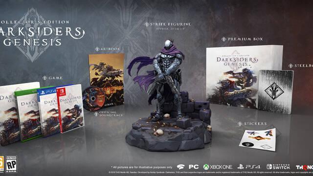Darksiders Genesis presenta sus dos ediciones especiales, una de ellas de casi 400 euros