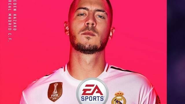 Hazard, el nuevo jugador del Real Madrid, será portada de FIFA 20