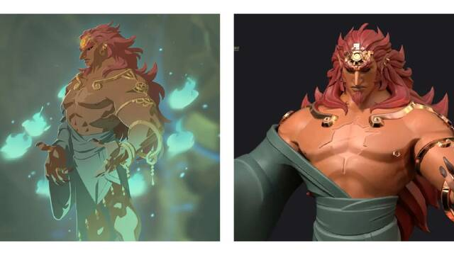 Imaginan el aspecto normal de Ganon en Zelda: Breath of the Wild