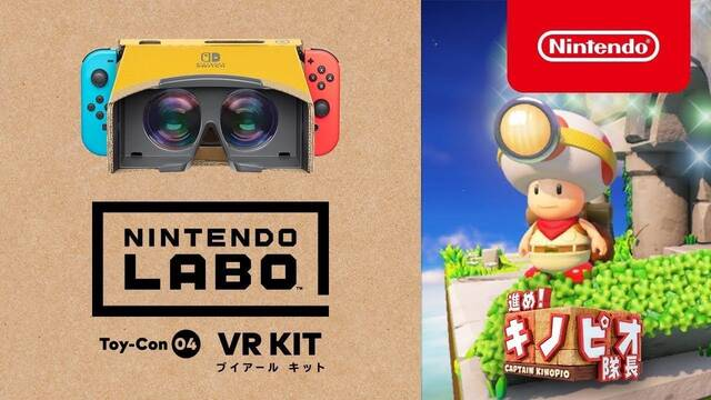 Captain Toad: Treasure Tracker ya es compatible con Nintendo Labo: VR Kit