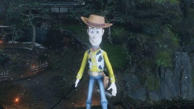 Woody de Toy Story se cuela en Sekiro: Shadows Die Twice gracias a un mod