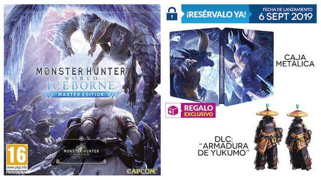 GAME anuncia su incentivo exclusivo para Monster Hunter World Iceborne